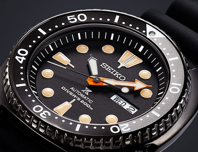 Seiko Launches a New Trio of All-Black Dive Watches
