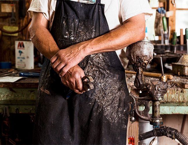 In New Hampshire's White Mountains, a Fourth Generation Bootmaker Carries on His Family Trade
