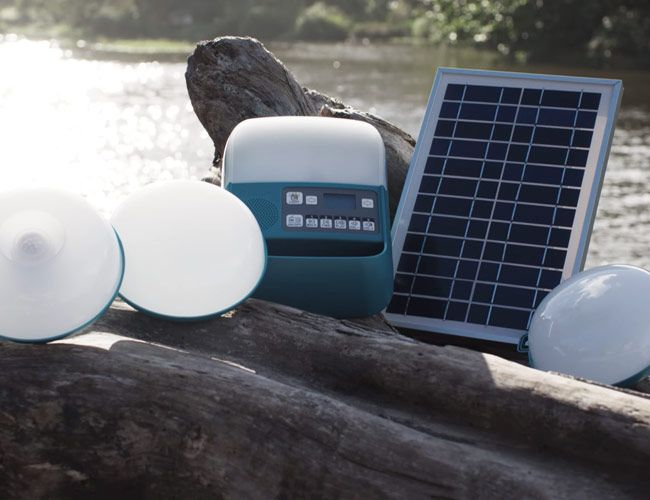 BioLite's New Solar Lighting Kit is the Perfect Upgrade for Your Off-Grid Shed