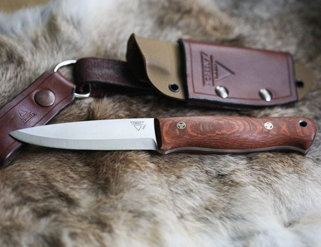 These Gorgeous Handcrafted Fixed Blade Knives Use Some of the Hardest Steel Available