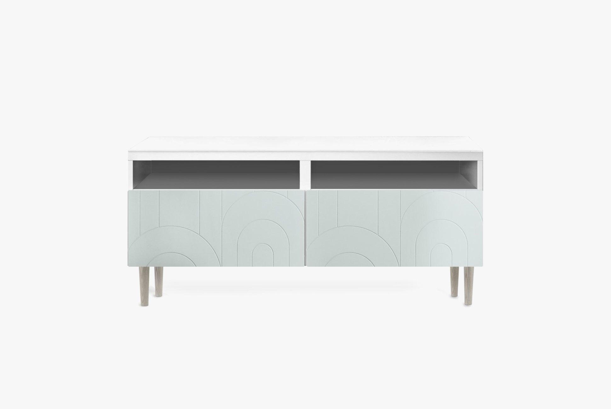 Turn Ikeas Bestå Cabinets Into High End Furniture Gear Patrol