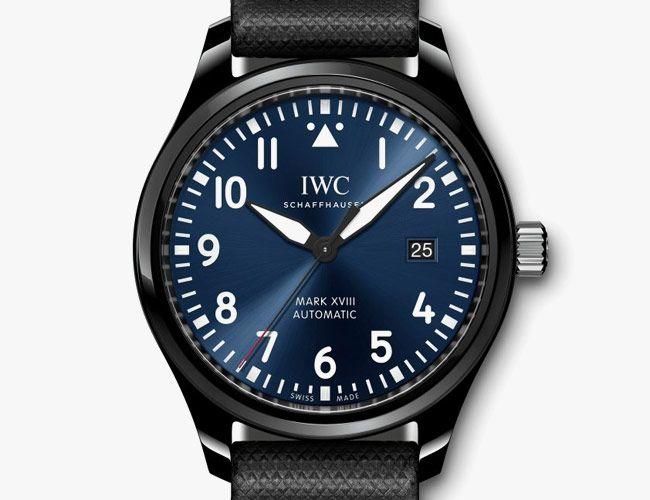 IWC Gave Its Classic Pilot's Watch a Beautiful Blue Dial and a Ceramic Case