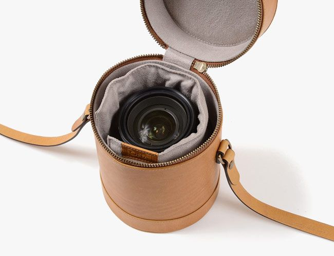 These Leather Lens Cases Take a Cue From Vintage Camera Gear