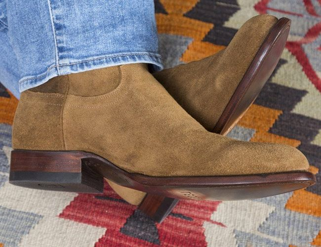 The Price of These Waterproof Suede Roper Boots Is Hard to Beat