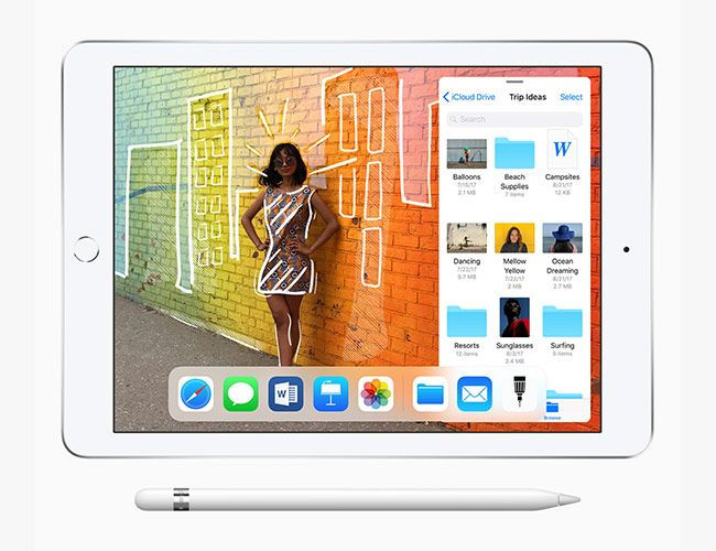 The New iPad Works With Apple Pencil and Costs $299 for Students