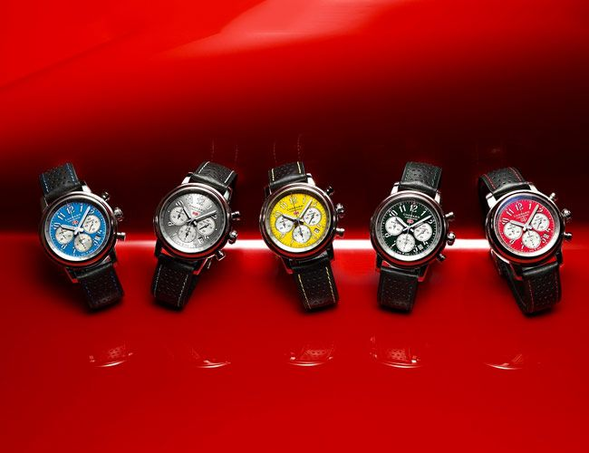 Chopard's Racing Chronograph Gets a New Range of Colorful Dials