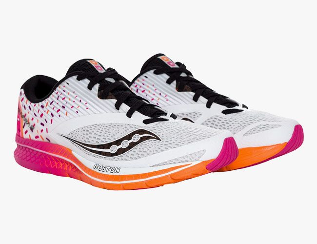 Saucony and Dunkin Donuts Team Up for Sweet Boston Marathon Shoe