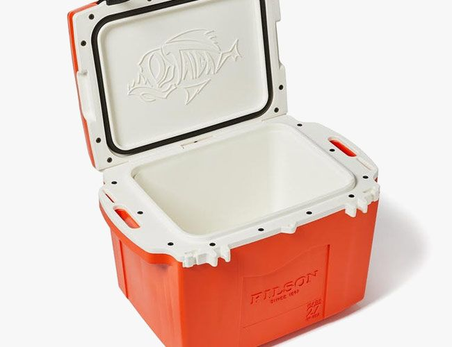 Filson's Funky New Cooler Keeps Beer Cold Longer Than You Could Possibly Need