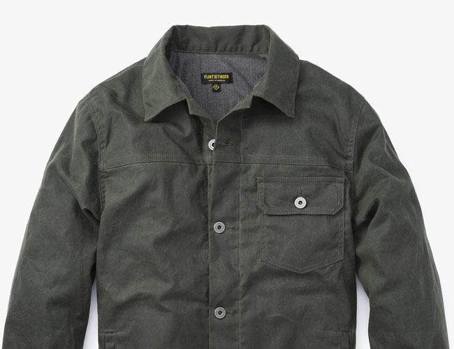 This Waxed Canvas Jacket Is Perfect for Spring (And on Sale)