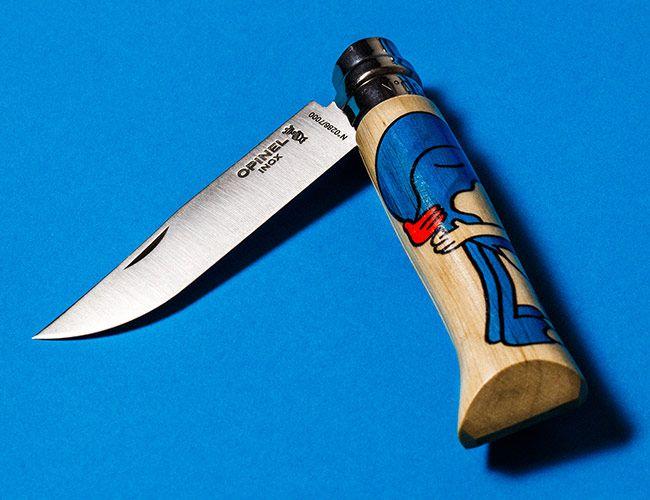 The Pocket Knives We Keep at Our Desks