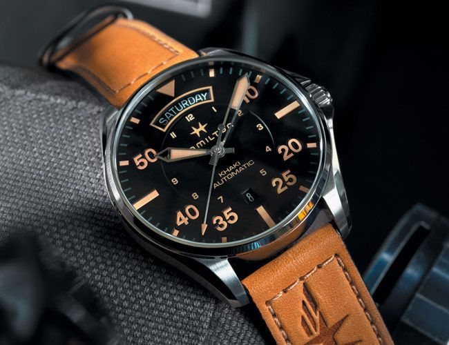 Hamilton's Reasonably-Priced Pilot's Watch Is a Throwback to the Days of Early Aviation