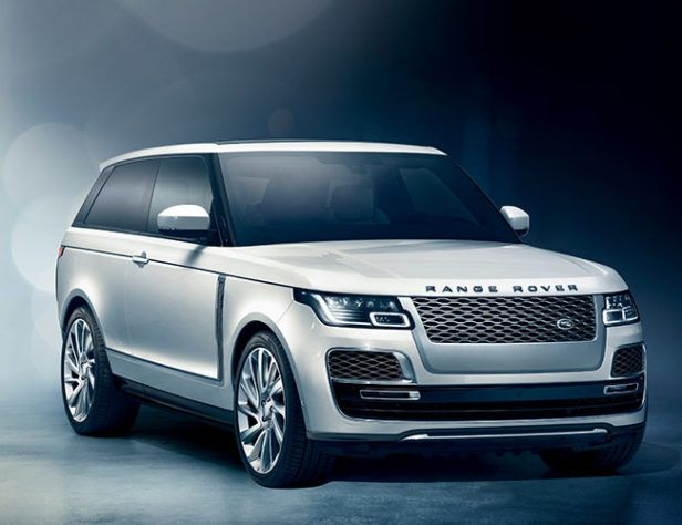 The All-New 2018 Range Rover SV Coupe Is a Far Cry From the Original Two-Door Off-Roader