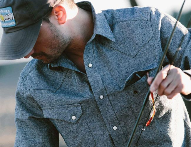 Taylor Stitch Upcycled Chambray Shirt