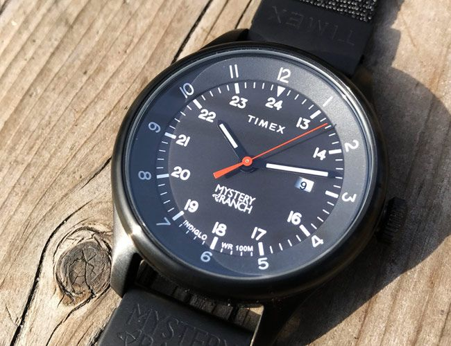 Mystery Ranch Teams up with Timex to Make a Stealthy Field Watch