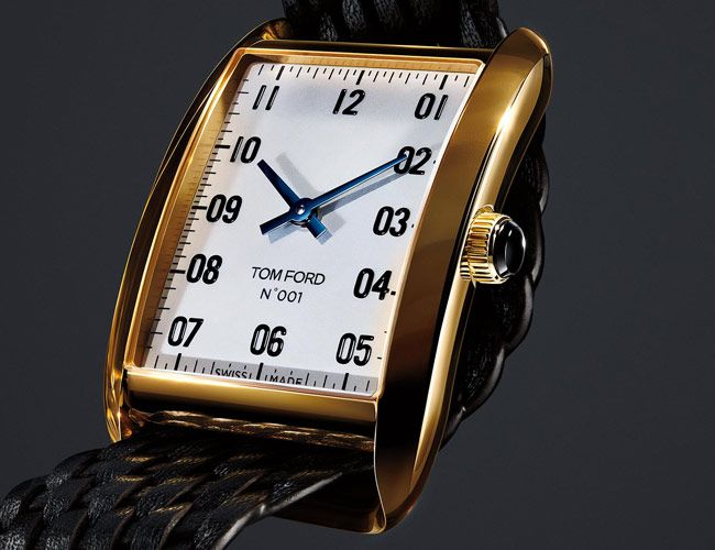 We Finally Have a Look at Tom Ford's First Watch Collection