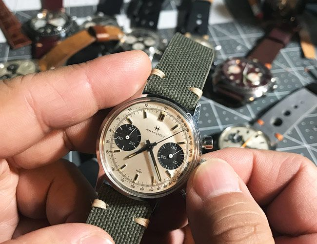 How an Instagrammer Makes a Living Selling Forgotten Vintage Chronographs