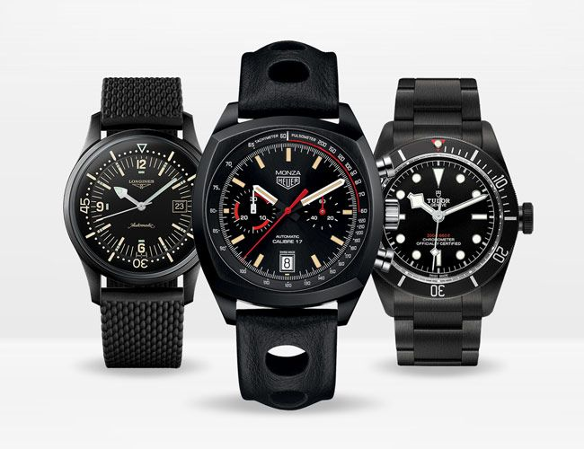 The 10 Best Blacked-Out Watches You Can Buy in 2019