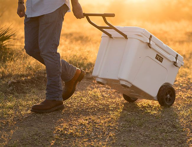 After Years of Customer Requests, Yeti Finally Adds Wheels to Its Legendary Cooler