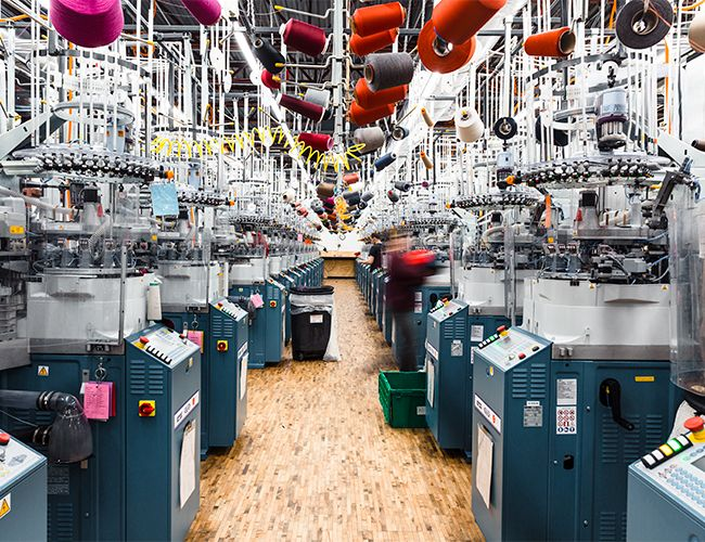 Inside the Mill Producing the World's Toughest Sock