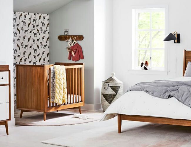 West Elm's New Baby Room Furniture Is Affordable Mid-Century Perfection