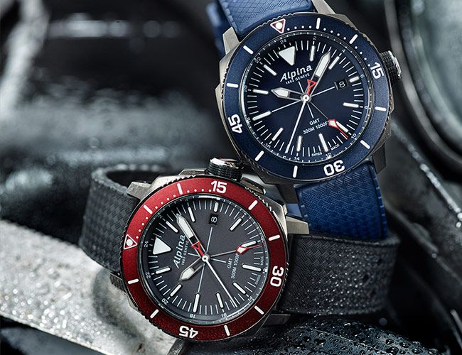 Alpina's New Sub-$1,000 Travel Watch Is Built for Adventure