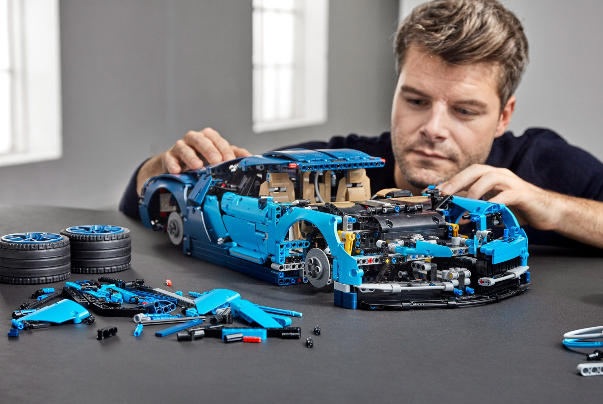 The LEGO Bugatti Chiron Is Nearly as Complex as the Real Thing • Gear Patrol