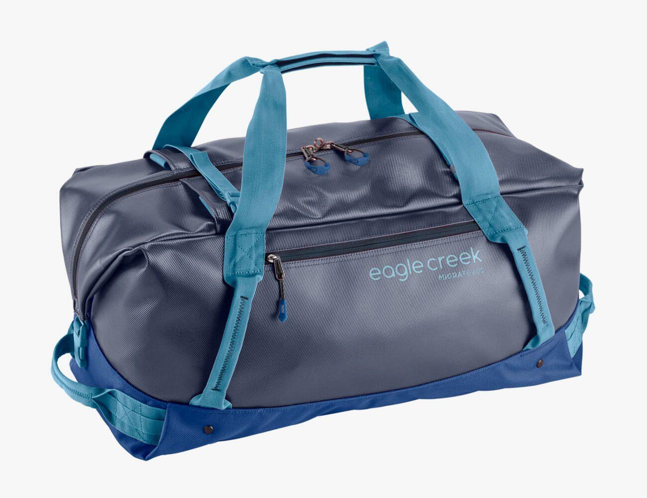 31 Mens Durable Duffel Bag with Shoulder Strap /& Weather//Water Resistant Black