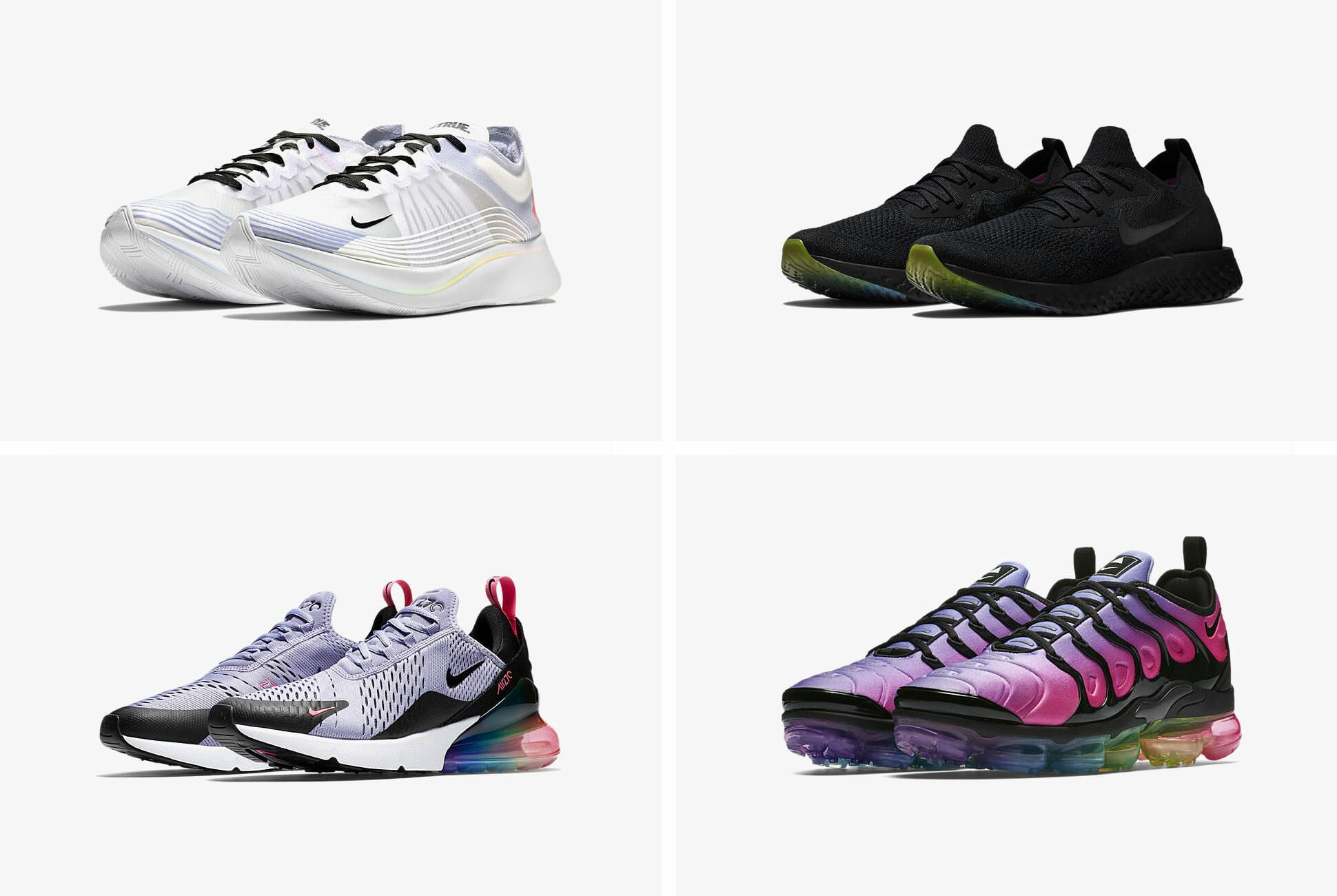 Nike's Pride Month Sneakers Are So, So Much Better Than