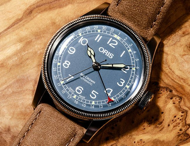 Image result for oris big crown pointer date review