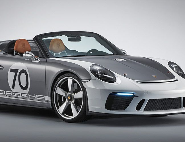 Porsche's New Drop-Top Is an Ode to Some of the Prettiest Roadsters Ever Made