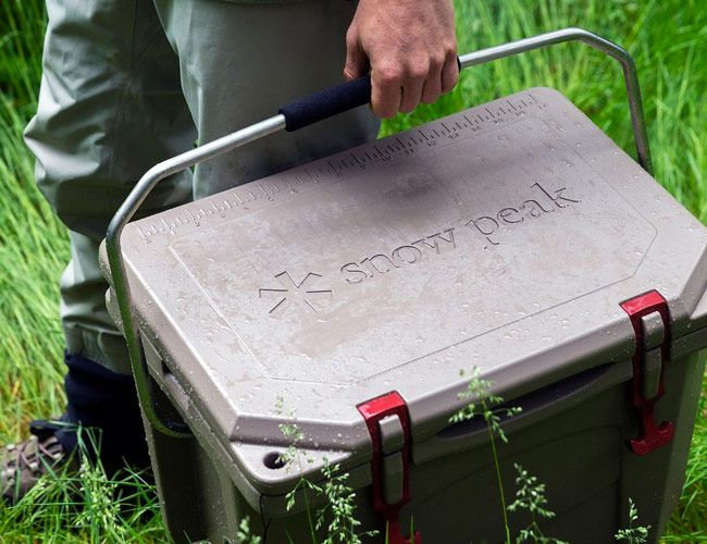 Snow Peak and Grizzly Coolers Collaborate on a Tough As Nails Cooler