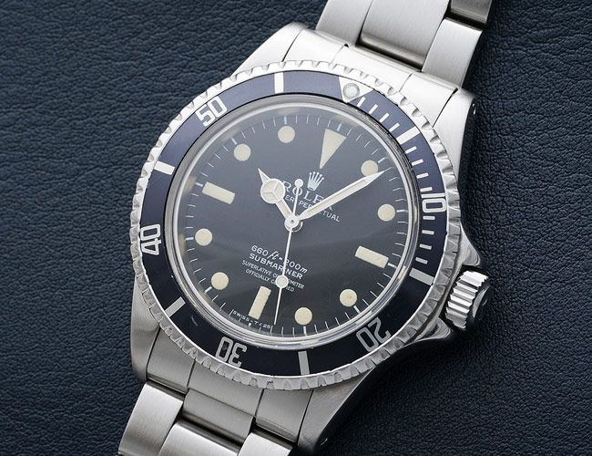 Steve McQueen's Rolex Submariner Is Going Up for Auction This Year