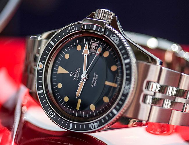 A Vintage French Dive Watch Is Reborn — and It Costs Less Than You Think