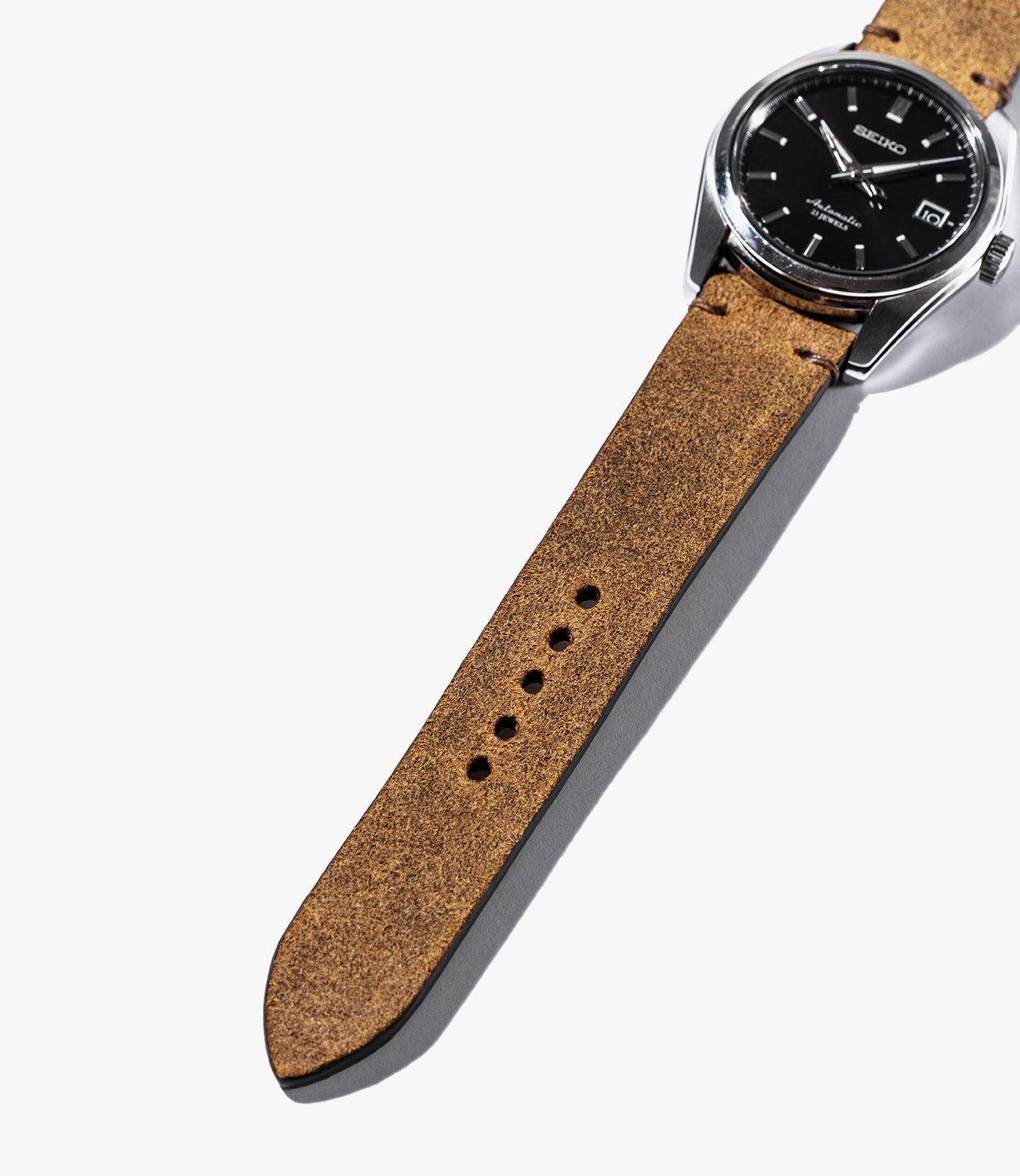 Leather-Watch-Bands-gear-patrol-Bas-and-Loks-Brown-slide-2