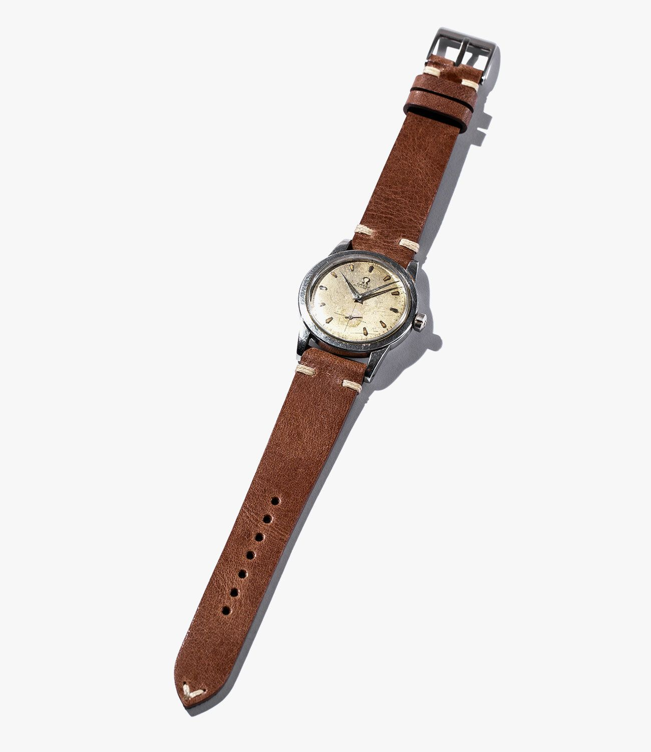 Leather-Watch-Bands-gear-patrol-Crown-and-Buckle-Brown-slide-1