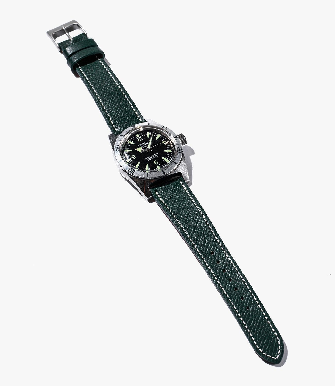 Leather-Watch-Bands-gear-patrol-Hodinkee-Green-slide-1