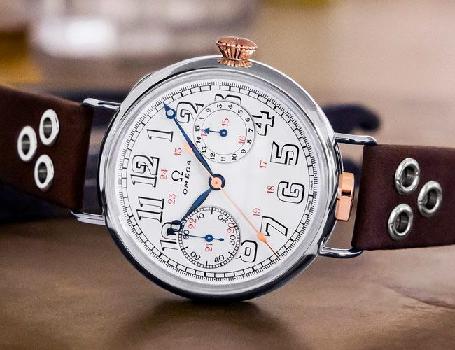 Omega's New Chronograph Has a Movement That's 105 Years Old