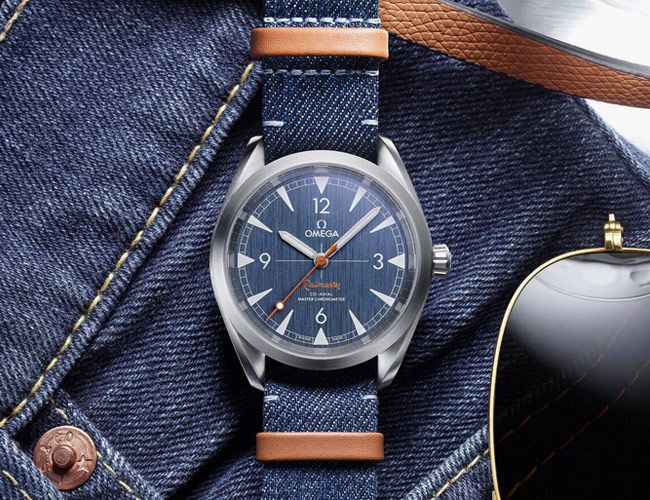 A New Take on Omega's Underrated Field Watch Is Inspired By Your Pants