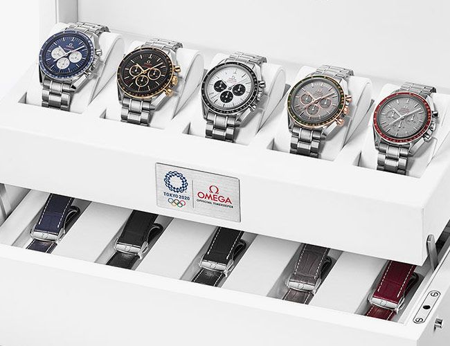 Omega Releases Five Japan-Only Speedmasters in Anticipation of the 2020 Olympics