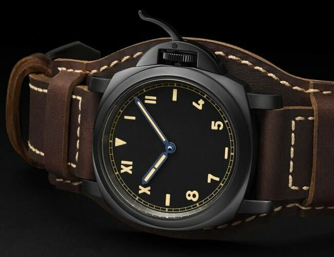 Panerai's Blacked-Out Luminor Is One of Its Best Releases This Year