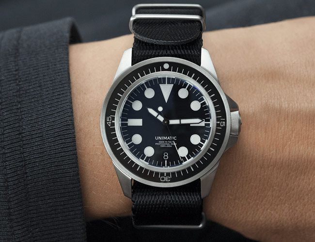 These Stealthy New Dive Watches From Unimatic Look Fantastic