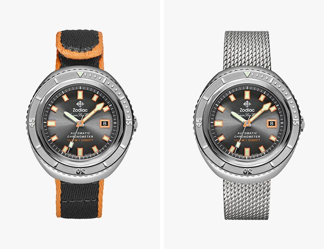 Zodiac's Super Sea Wolf 68 Is A Celebration Of Dive Watch Heritage