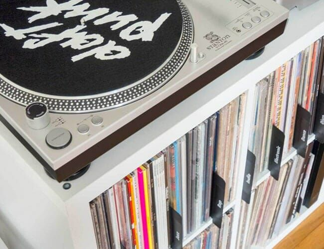 This Is the Ideal Vinyl Accessory for Large Record Collections