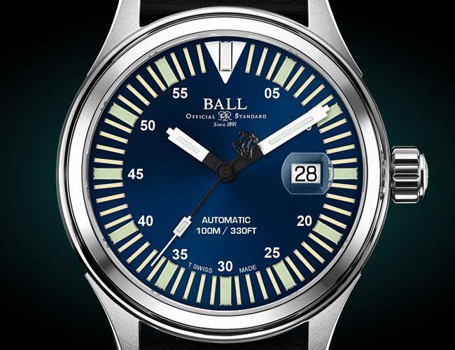 Ball's Tough New Field Watch Has an Absurd Amount of Lume