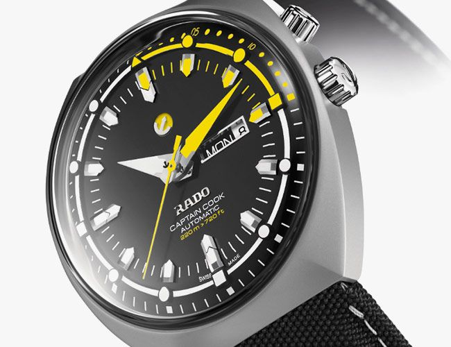 The Rado Tradition Captain Cook MKIII Is An Automatic Diver in Titanium