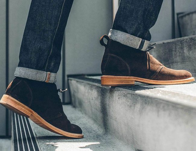 This Tasteful Chukka Is Weatherproof and Rebuildable