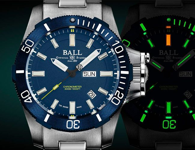 Ball Introduces Yet Another Watch That Looks Like It Could Withstand A Nuclear Strike
