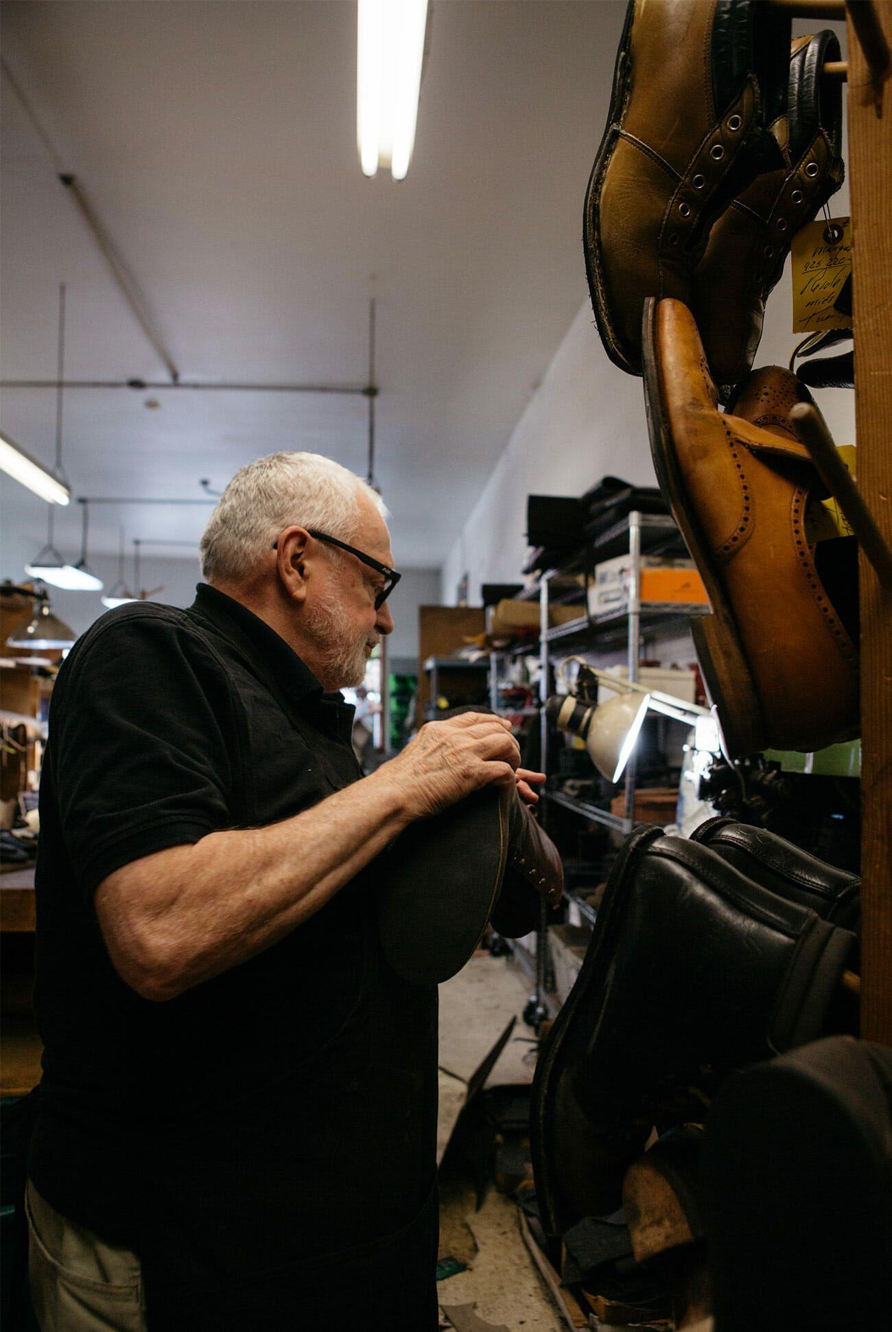 Inside The Worlds Best Hiking Boot Repair Shop Gear Patrol