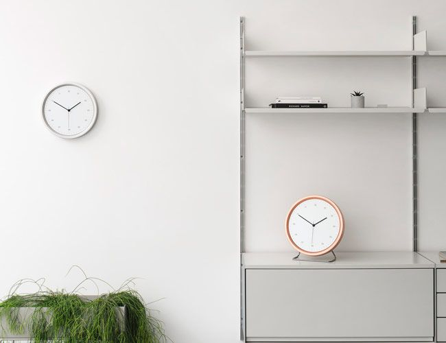 Upgrade Your Wall or Table With this Handsome Minimalist Clock