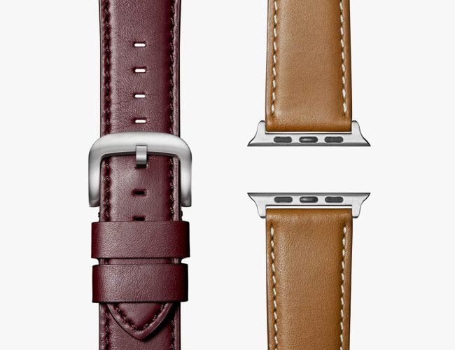 Update Your Old (or New) Apple Watch with a Handsome Leather Strap